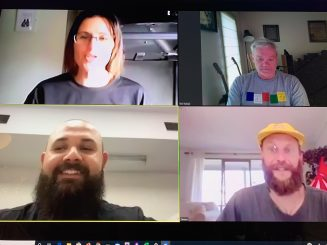 Our own team on Zoom